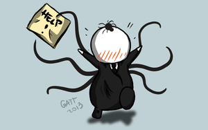 Spider, Run! by pinkkuneko