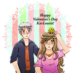 [SECRET VALENTINE] For KarLouiie by melonstyle