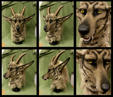 Gold horn beast updated FORSALE by Eddie-Ka