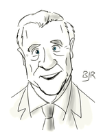 Leslie Nielsen by Mr-MegaTronic