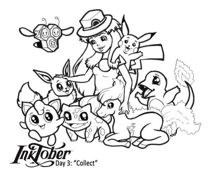 Inktober - Day 3 - Collect by madam-marla