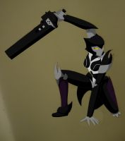 RWBY Blake Belladonna Robot Colored (Complete) by starscreamundermybed