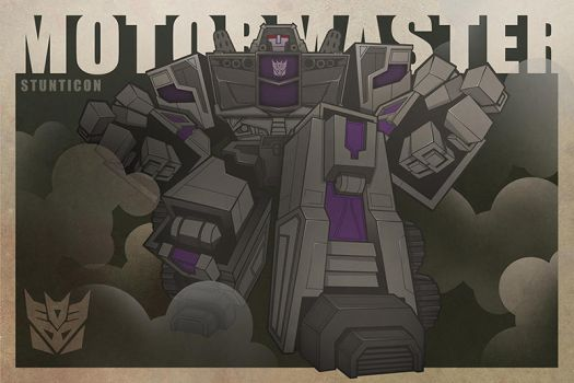 MOTORMASTER-Stunticon by The-Cosmic-Kid