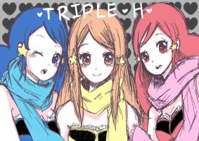 !TRIPLE H! by Kheetza
