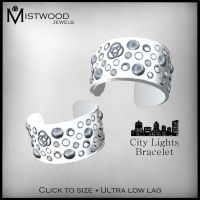 City Lights Bracelets - White by Aedil