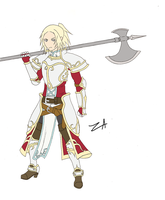 Claymore - Paladin Miria by AiZhaoDao