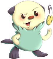 Oshawott from Pokemon Black and White by MatsuoAmon