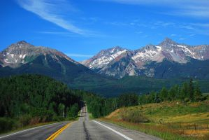 Colorado Highway by afugatt