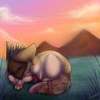 warm sleep by Searii