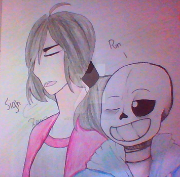 Sj and sans by ReulletHollow