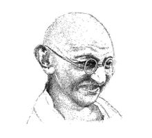 Gandhi - Father of our Nation by Joy-cheers