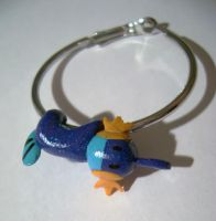 Mudkip earring by GabrielWings