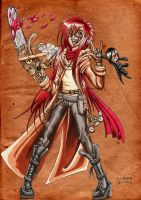 The Steampunk Grell by EpicDeidara
