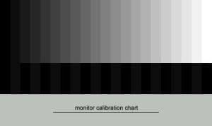 greyscale calibration chart by draven-clarke