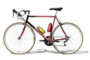 [MMD] Bicycle - Road Racer (DL) by arisumatio