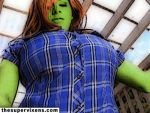 She-Hulk busting loose! by TheSupervixens