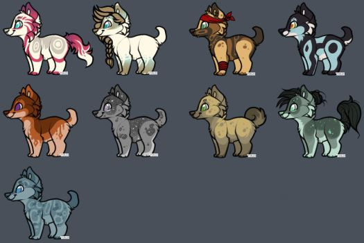 Adopts Batch Open    100 Points    by PengrisuKnightAdopts