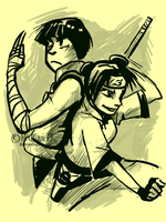 Kickass couple by natsumi33
