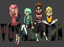 Lady Vocaloids by PotatoCrisp