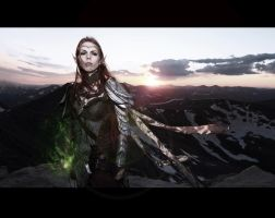 COSPLAY: Elder Scrolls Online, Altmer High Elf by DymondStarr