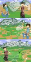 Korra Discovers Minecraft by Xylerz