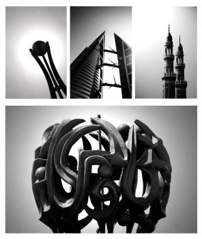 Bahrain in Silhouetes by savvychic