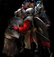 honor, courage, justice, chivalry 1 by manuroartis