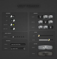 iPhone UIKits light remake by fantasy-apps