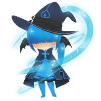 Wizard Chibi by Mochaspar