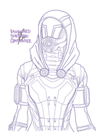 Tali [da ID] by CommanderLavellan