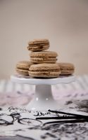 Macarons with chocolate ganache_3 by KLutskaya