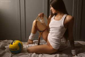 Sports Girl by artofdan70
