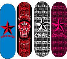skateboard decks by myvaportrail