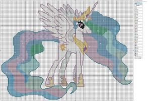 Princess Celestia by Makibird-Stitching