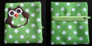 Owl Coin Purse by apparentlyjessy