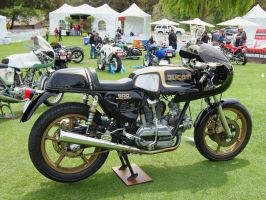1978 Ducati 900SS at The Quail by Partywave