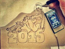 Happy 2015 by ElectricDawgy