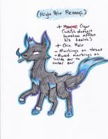 Adopted Character Revamp 1: Night Pelt by RusticScout