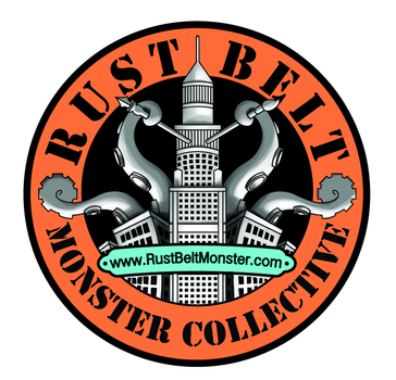 Rust Belt Monster Collective Logo Variant by sman118