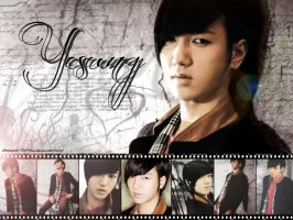 Super Junior 2012 calendar Yesung by ForeverK-PoPFan