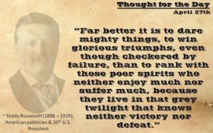 Thought for the Day - April 27th by ebturner
