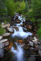 San Juan Mountain Stream by TRBPhotographyLLC