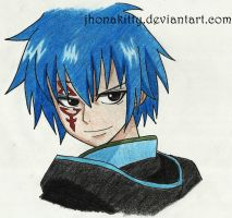 Fairy Tail~Jellal by jhonakitty