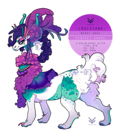 Madi Gras **AUCTION** (CLOSED) by SinCommonStitches