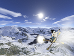 Skiing Landscape by V3r0x