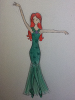 Ariel 'Part of Your World 'Costume by TheWhiteSwan