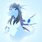 Aquatic Dragoness - SoftColor by AlexBluez