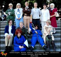 APH Cosplay: World Gathering by Feffelini