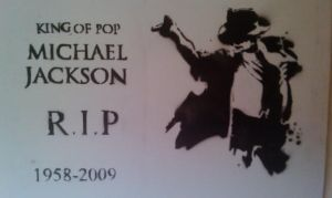 Michael Jackson tribute spray by edelric666