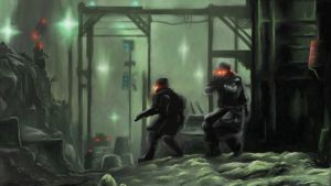Killzone 2 - Helghast Outpost by Torqbow